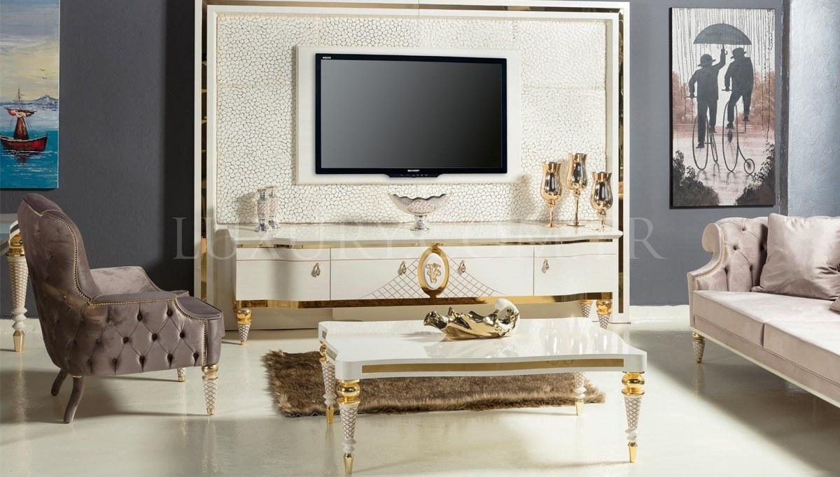 Lüks Virena Luxury TV Ünitesi