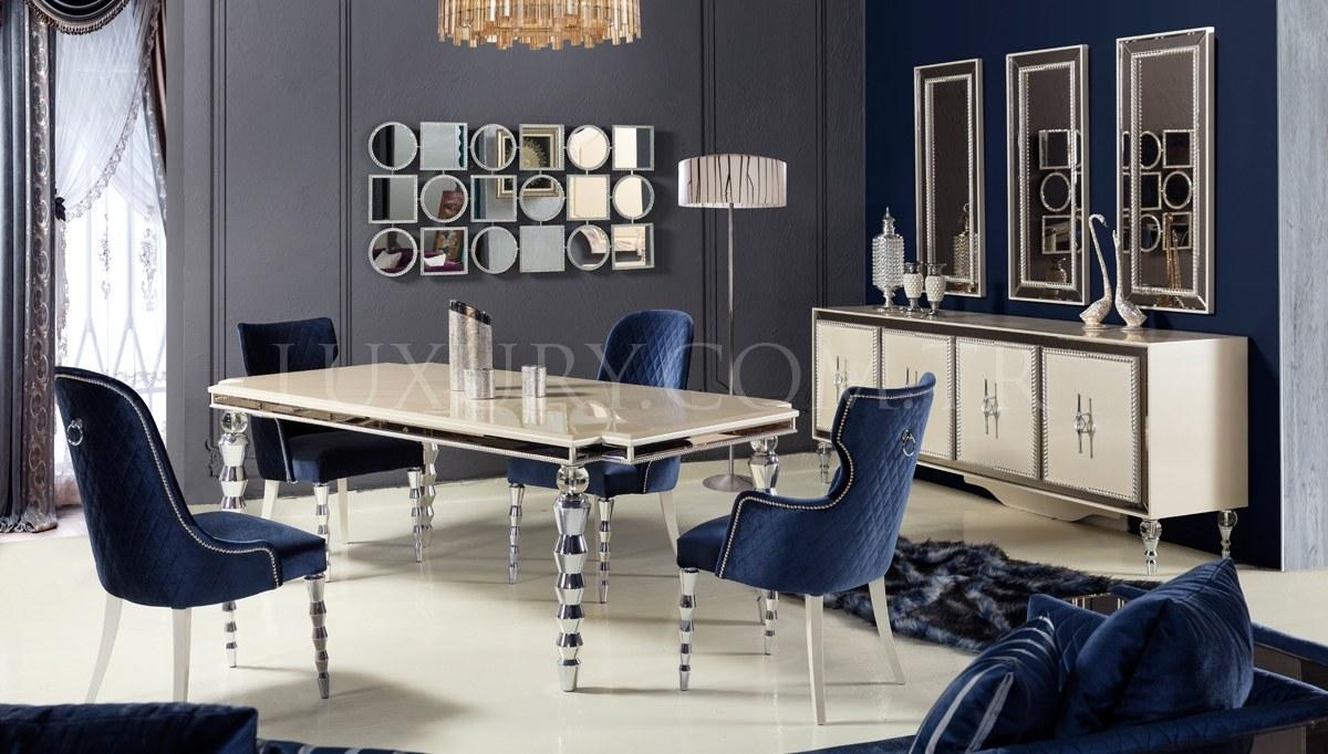 Lüks Menfora Luxury Yemek Odası