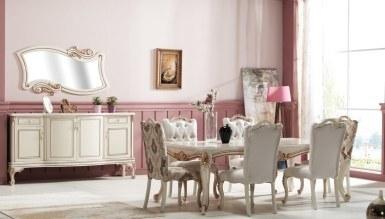 875 - Lüks Merya Klasik Yemek Odası
