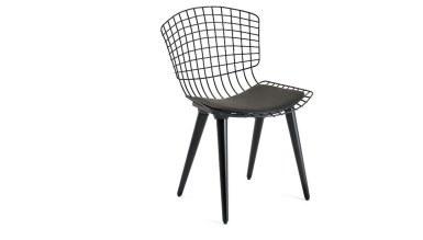 920 - Lüks Meta Ahşap Ayaklı Sandalye
