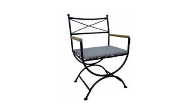 Lüks Meyiste Metal Ayaklı Sandalye