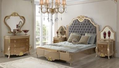 714 - Lüks Mezotan Klasik Yatak Odası