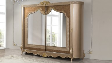 Lüks Mezotan Klasik Yatak Odası - Thumbnail
