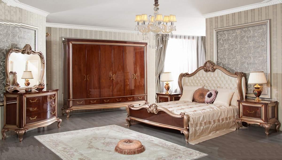 Lüks Milas Klasik Yatak Odası