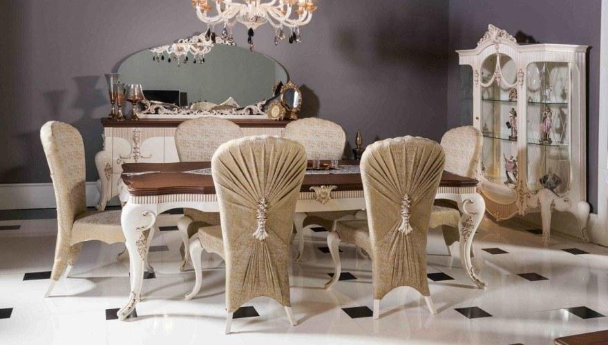 Lüks Milat Klasik Yemek Odası - Thumbnail
