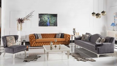 200 - Lüks Mimarsinan Art Deco Koltuk Takımı