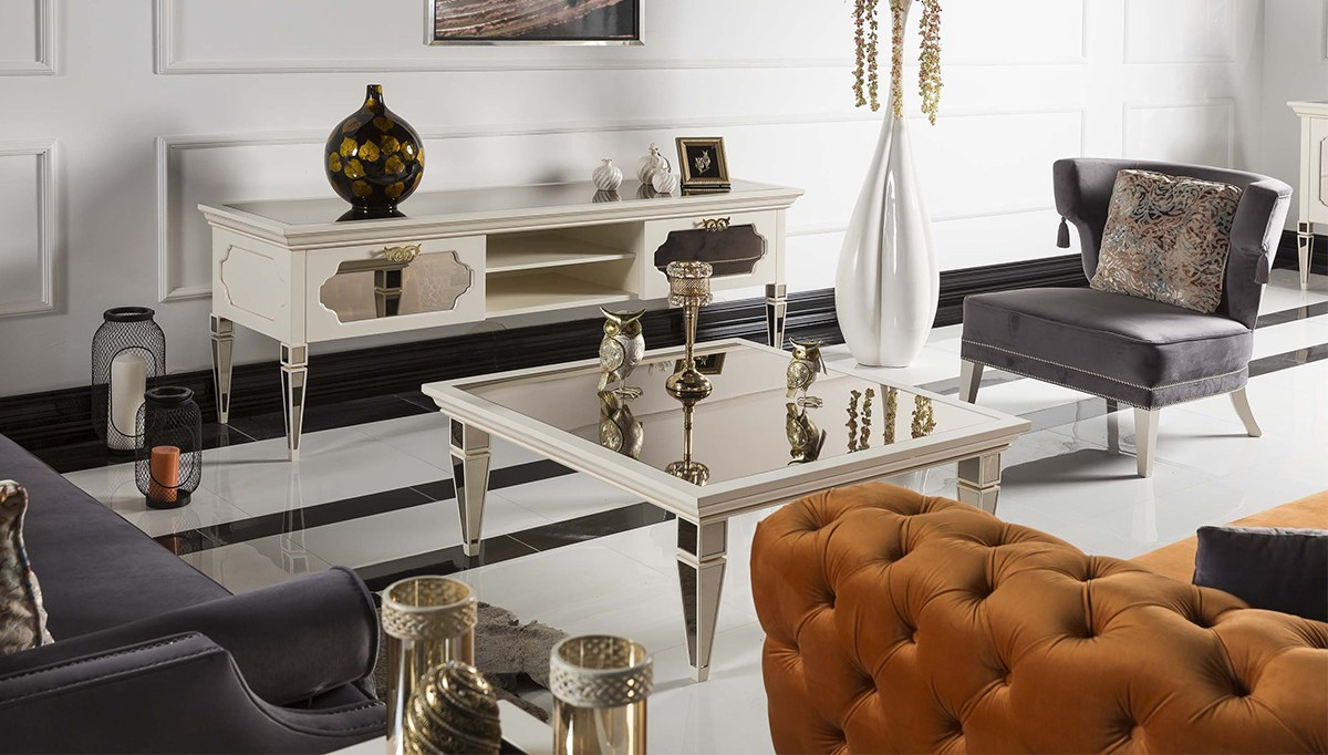 Lüks Mimarsinan Art Deco Koltuk Takımı