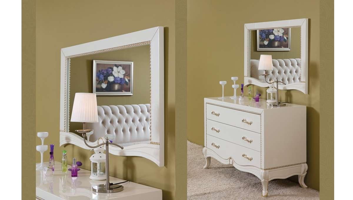 Lüks Mirante Klasik Yatak Odası