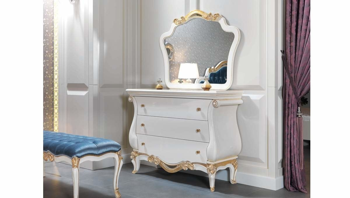Lüks Miranu Klasik Yatak Odası