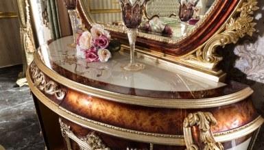 Lüks Miresa Klasik Yatak Odası - Thumbnail