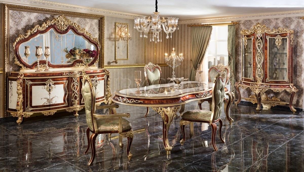 Lüks Miresa Klasik Yemek Odası