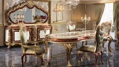 Lüks Miresa Klasik Yemek Odası - Thumbnail