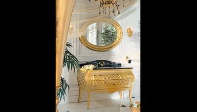 Lüks Mistake Altın Klasik Banyo Takımı - Thumbnail