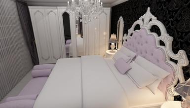 Lüks Mons Klasik Yatak Odası - Thumbnail