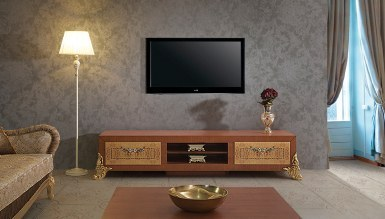 1017 - Lüks Mosepit Klasik TV Ünitesi