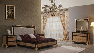 1017 - Lüks Mosepit Siyah Yatak Odası
