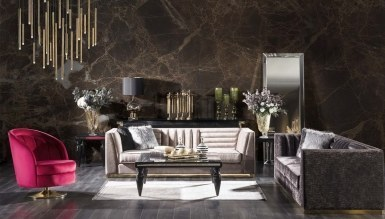 Lux Napolyone Art Deco Living Room