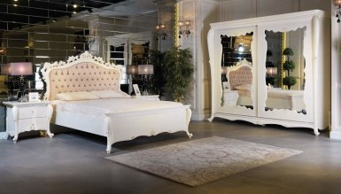 Lüks Narbel Klasik Yatak Odası - Thumbnail