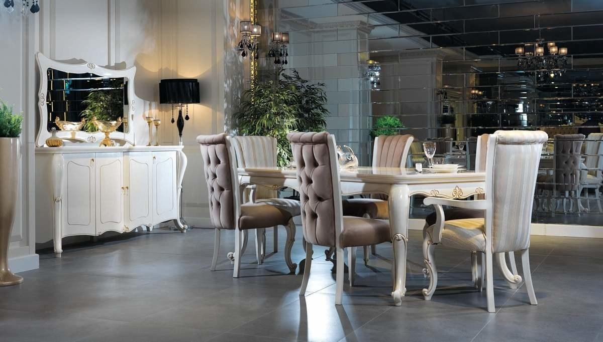 Lüks Narbel Klasik Yemek Odası