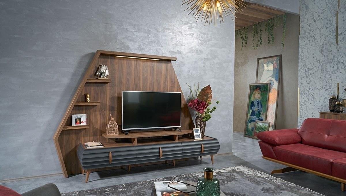Lüks Nasus Modern TV Ünitesi