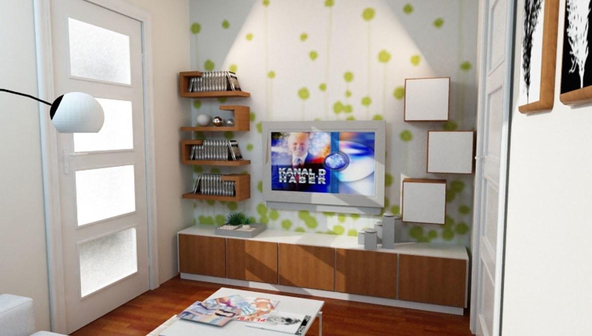 Lüks Navaro TV Ünitesi