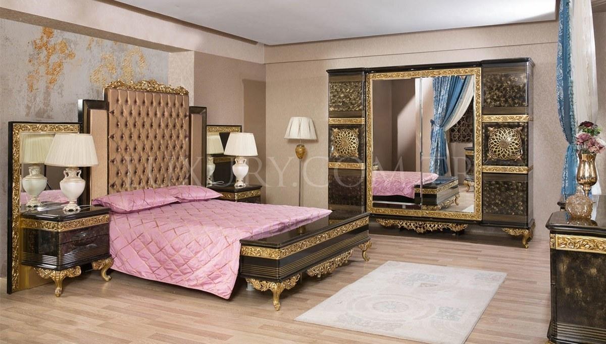 Lüks Nazera Klasik Yatak Odası