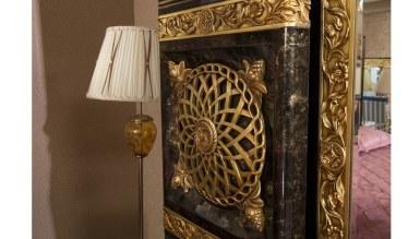 Lüks Nazera Klasik Yatak Odası - Thumbnail