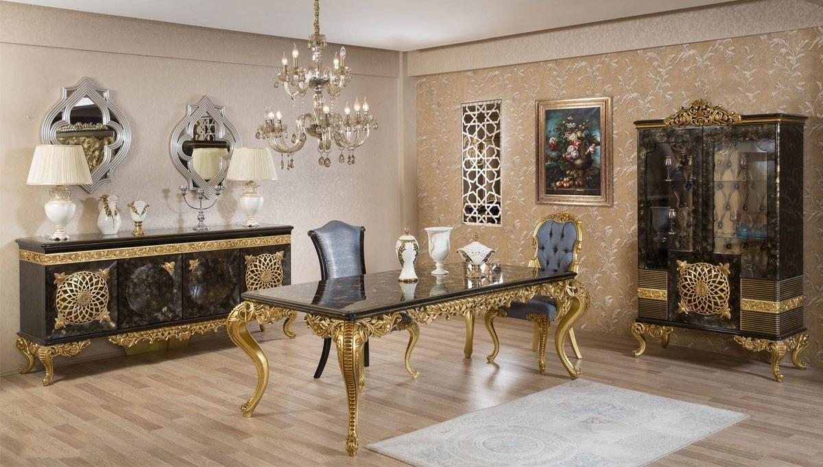 Lüks Nazera Klasik Yemek Odası