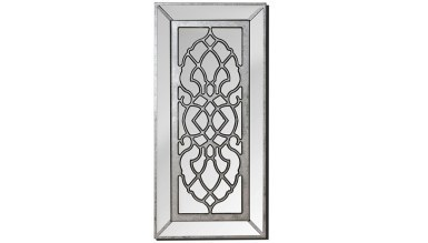 913 - Lüks Nazik Kesitli Gümüş Ayna