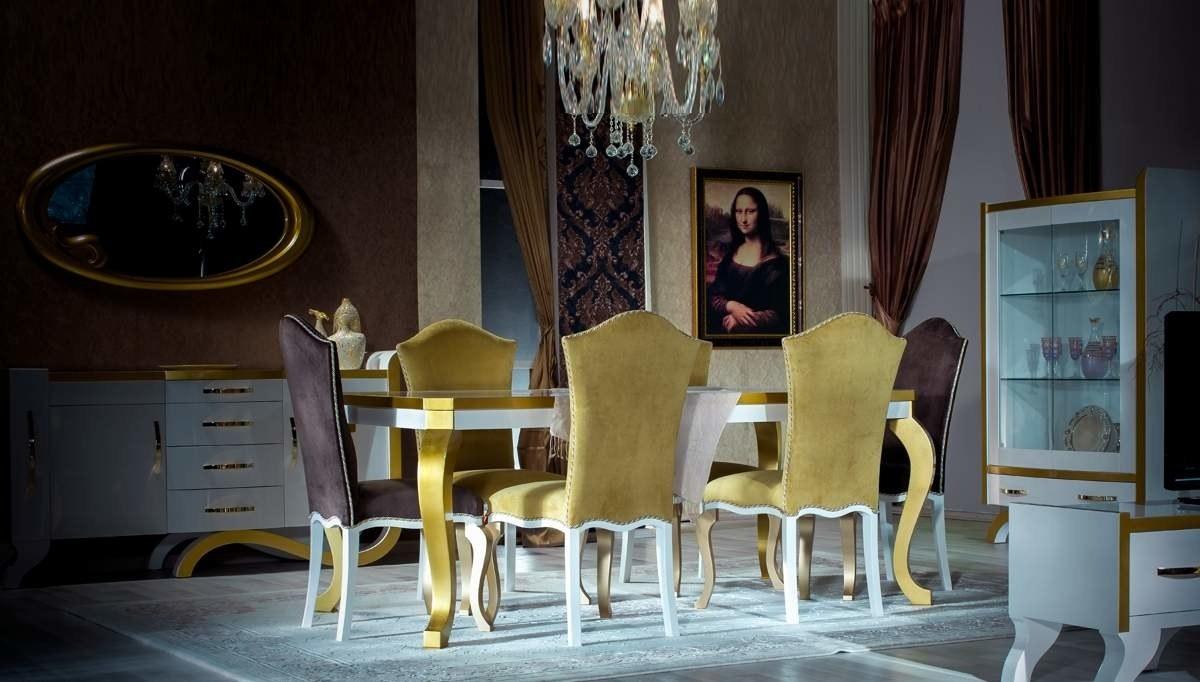 Lüks Nehir Klasik Yemek Odası
