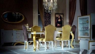 806 - Lüks Nehir Klasik Yemek Odası