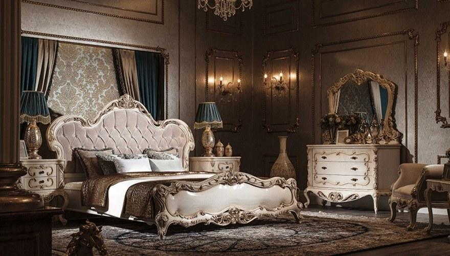 Lüks Netron Klasik Yatak Odası - Thumbnail