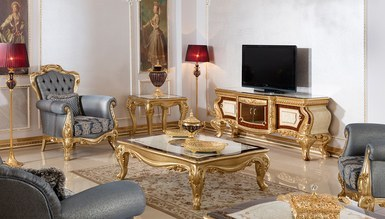 Lüks Nevora Klasik TV Sehpası - Thumbnail