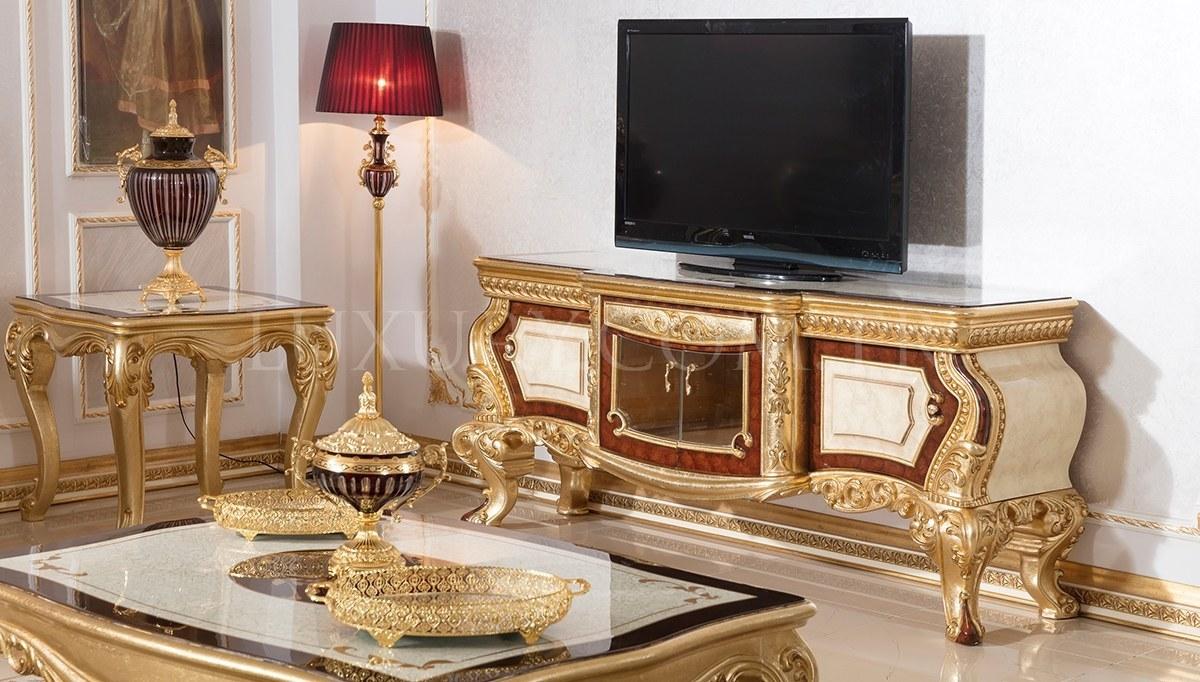 Lüks Nevora Klasik TV Sehpası