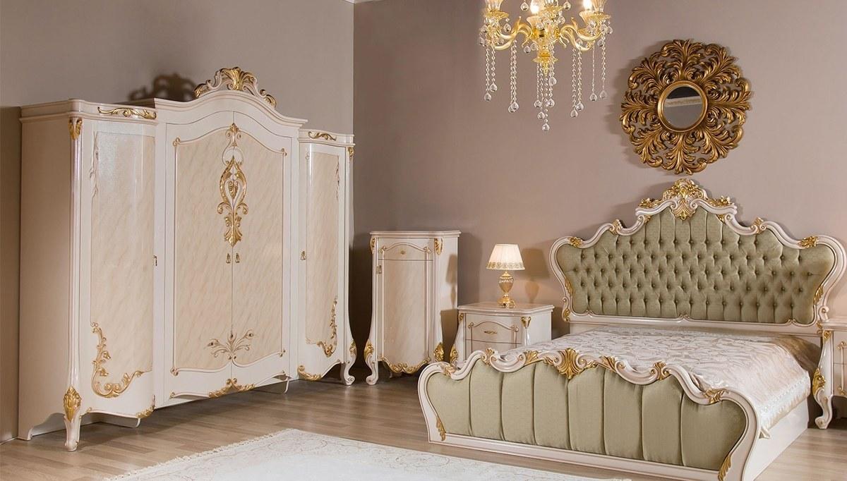 Lüks Neyzen Klasik Yatak Odası
