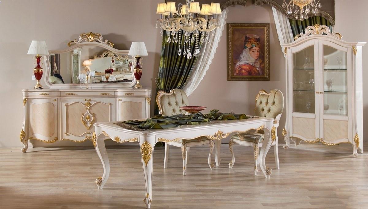 Lüks Neyzen Klasik Yemek Odası