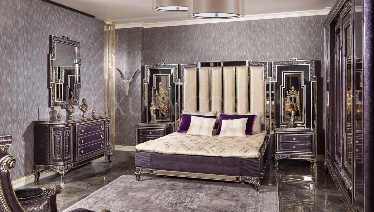 Lüks Nişava Klasik Yatak Odası