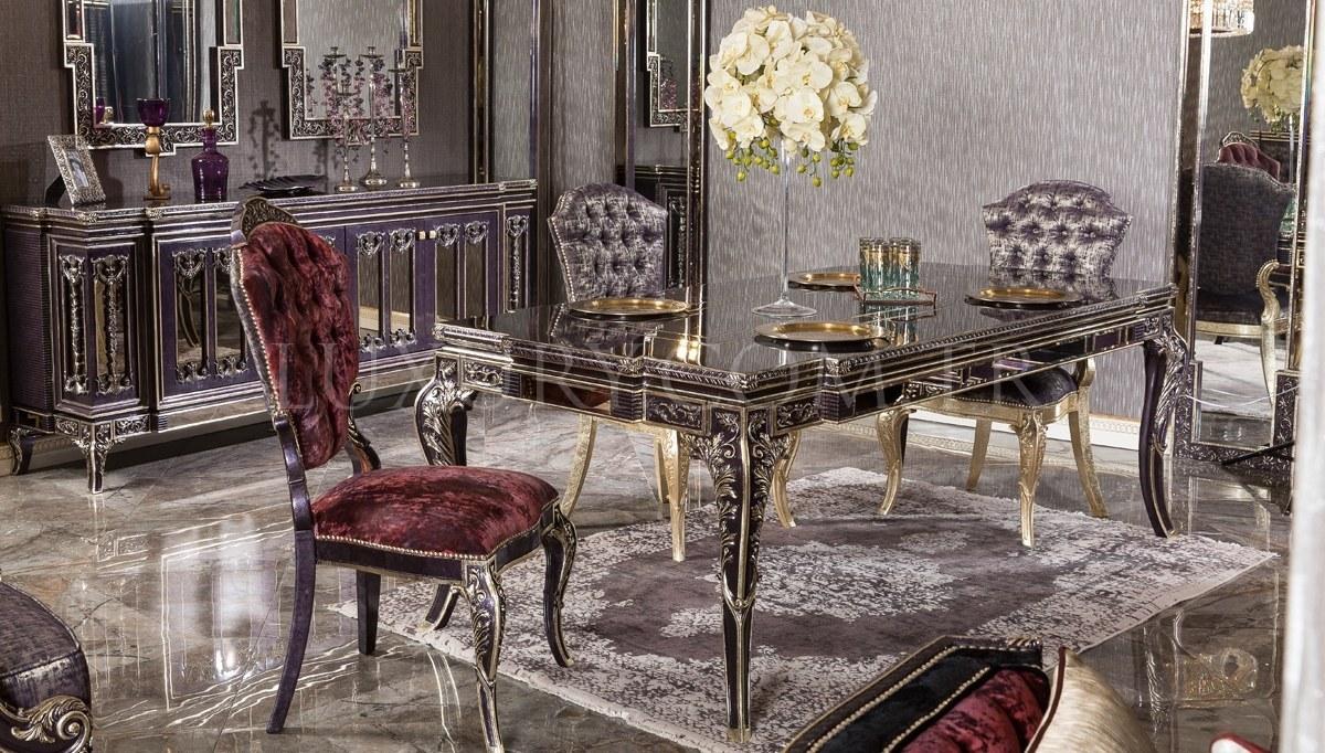 Lüks Nişava Klasik Yemek Odası