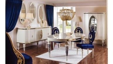 Lüks Nobel Klasik Yemek Odası - Thumbnail