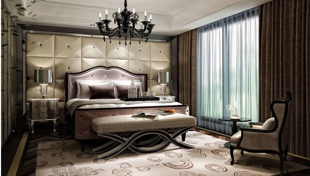 Lüks Obasi Otel Odası