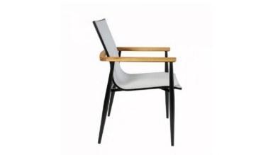 Lüks Ofcal Metal Ayaklı Sandalye