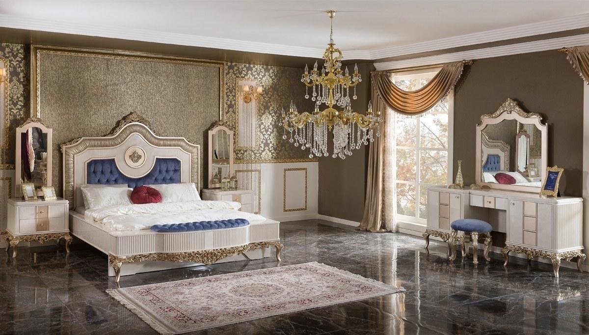 Lüks Oktav Klasik Yatak Odası