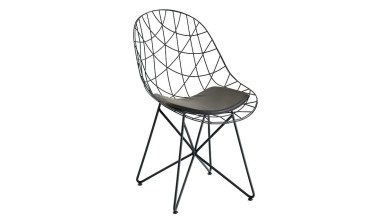 920 - Lüks Orumcek Metal Ayaklı Sandalye