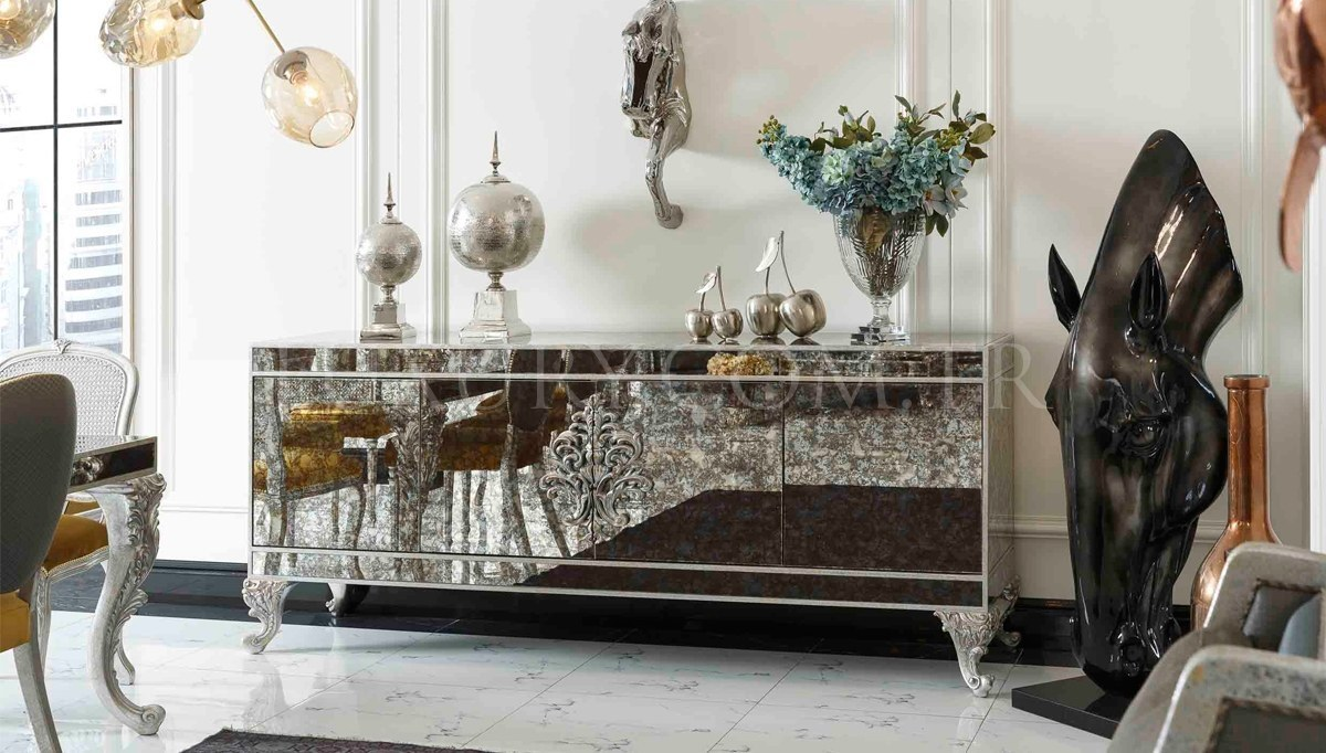 Lüks Oscares Art Deco Yemek Odası