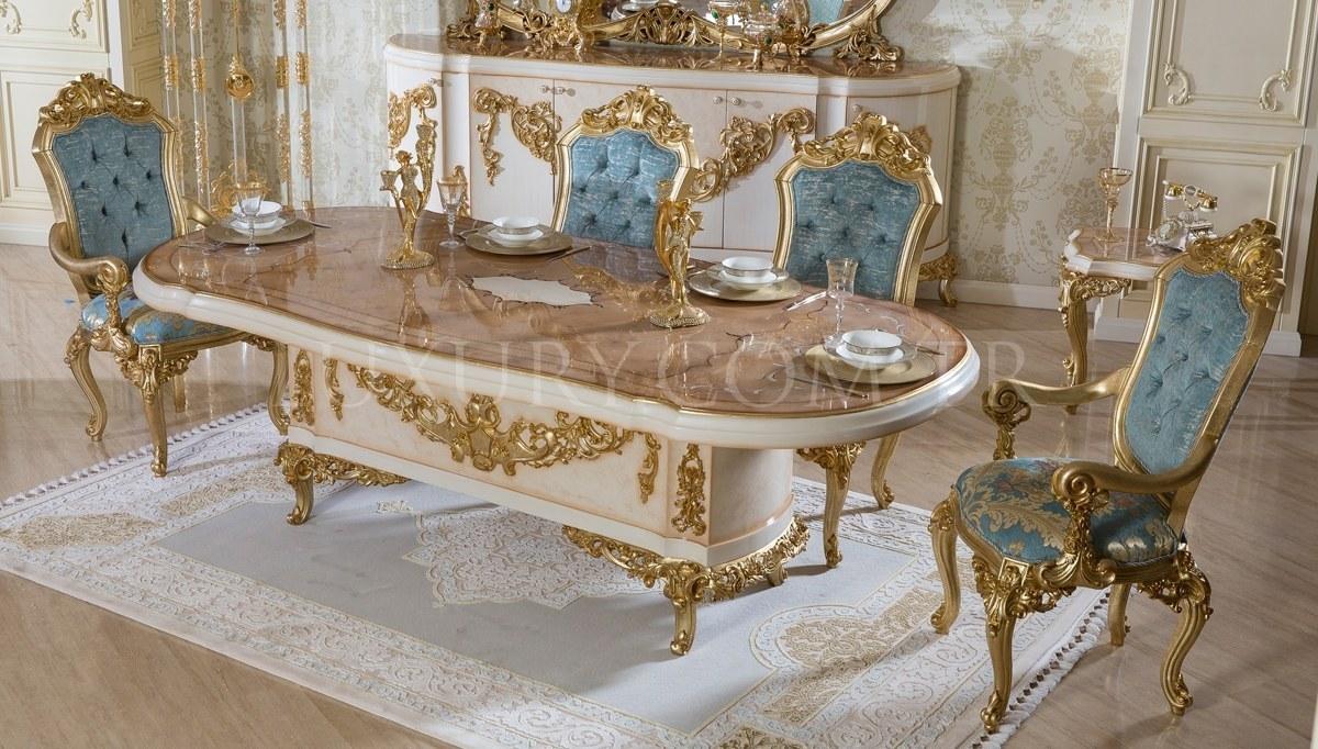 Lüks Ottoman Klasik Yemek Odası