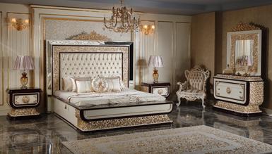 Lüks Oxford Klasik Yatak Odası - Thumbnail