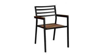 1009 - Lüks Ozbi Metal Ayaklı Sandalye