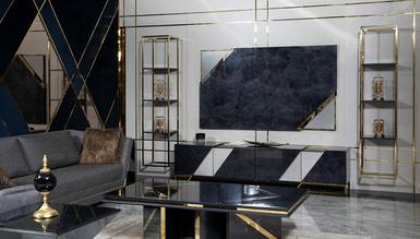 Lüks Pablona Luxury TV Ünitesi - Thumbnail