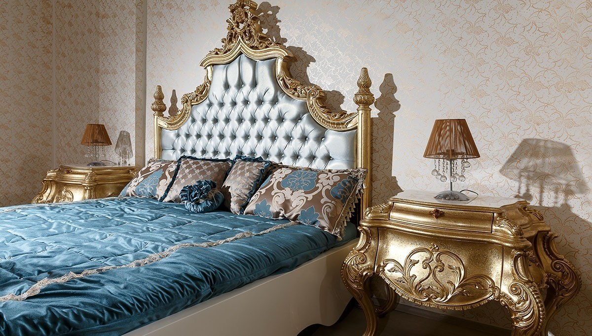 Lüks Padişah Klasik Yatak Odası
