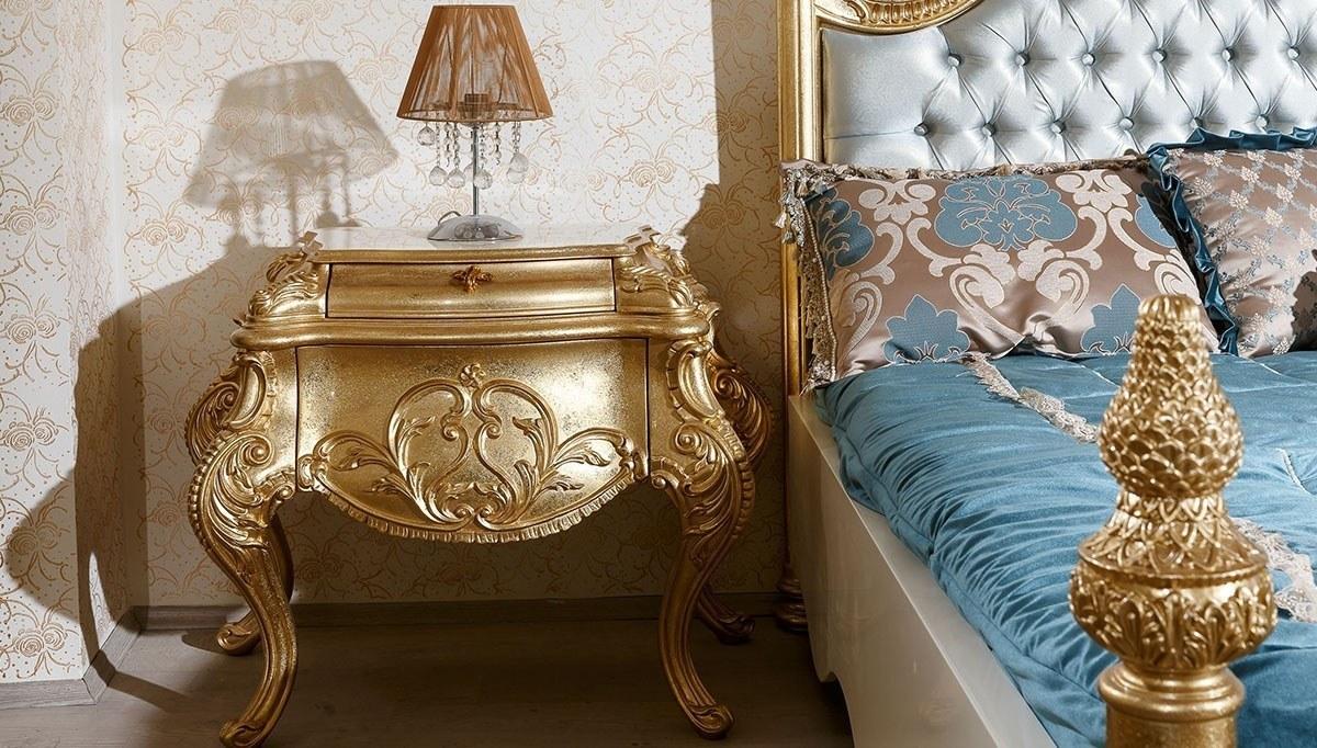 Padişah Altın Varaklı Yatak Odası